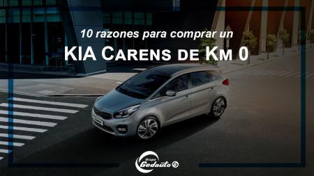 10 razones para comprar un Kia Carens de km 0