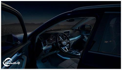 Interior Audi Q5 disponible en Grupo Gedauto.