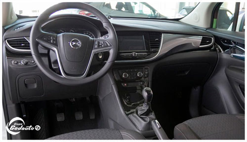 Opel Mokka X km 0 interior